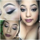 Simple and quick makeup look