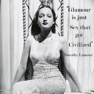 Glamour es sólo sexo que consiguió civilizado.