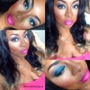 Blue and Pink Hotness!