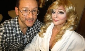 Madonna transformation makeup w Mathias Alan