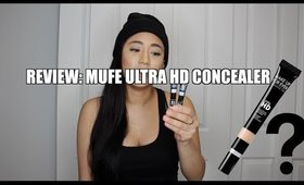 PRODUCT REVIEW: MUFE ULTRA HD CONCEALER | CARLA KATRINA