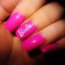 Barbie girl nails 💁💁