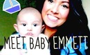 How I told my parents I was pregnant & meet baby Emmett!