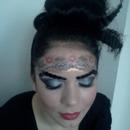 Fashion makeup by me, on Madalina