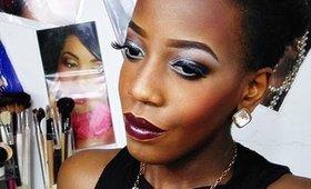Vampy makeup tutoriel
