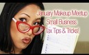 January Makeup Meetup - Tips & Tricks for Small Business Taxes