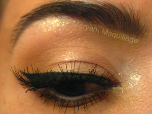 cat-eye and shimmer http://www.maryammaquillage.com/2012/01/modern-pin-up.html