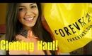 Clothing Haul!: Tilly's, Forever 21, Target & Tobi!