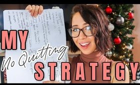 NO QUITTING STRATEGY: Journal Prompt For SUCCESS and MOTIVATION