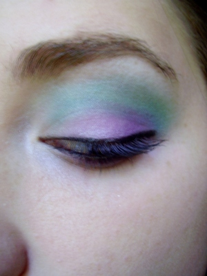 tropical berry eyeshadow tutorial