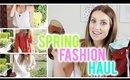 Spring Fashion Haul: Target + Windsor | vlogwithkendra