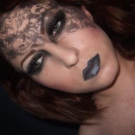 Dark lace face