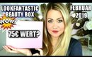 Unboxing LOOKFANTASTIC Beauty Box Februar 2019 | 75 Euro wert?🤩