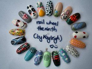 nail art wheel