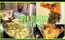 Cook Dinner With Me | Air Fried Salmon | Easy HEALTHY Dinner Ideas
