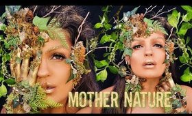 MOTHER NATURE / EARTH Halloween Makeup