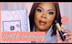 Lets Try The ✨NEW ✨LUXSB Luxury Scent Box Unboxing