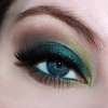 St Patrick's Day Eye Makeup