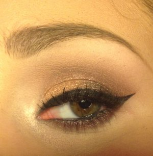 Using the original Urban Decay Naked palette