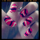 Neon Pink and Wavy lines