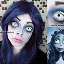 Halloween Makeup Inspired Look Corpse Bride