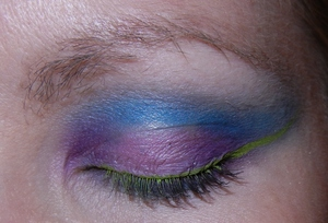 playing with my makeup