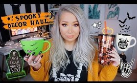 HALLOWEEN DECOR HAUL 2019 | The Beauty Vault