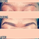Eye Brow Before During After