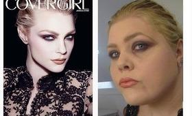 Jessica Stam Cover Girl Advertisement Makeup Tutorial