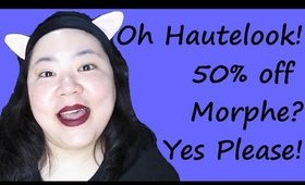 Hautelook Unboxing! Morphe Haul 350S & 35P! Jumping on the Bandwagon!