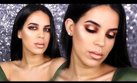 Urban Decay Naked Heat Palette | Get Ready With Me