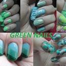 Green nails collaboration