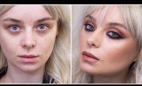 Rose Gold Cut Crease Make-up tutorial