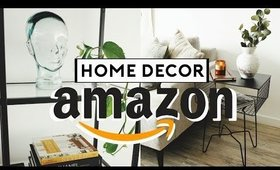 AMAZON HOME DECOR FAVORITES! (Affordable +Trendy) 2019 | Nastazsa