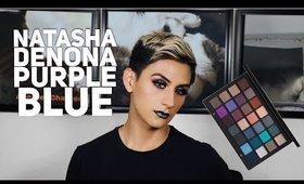 NATASHA DENONA PURPLE BLUE