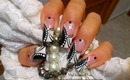 Easy, Abstract, Black and White Nail Art Design Tutorial - ♥ MyDesigns4You ♥