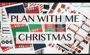 Christmas Plan With Me
