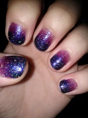 love the holo glitter