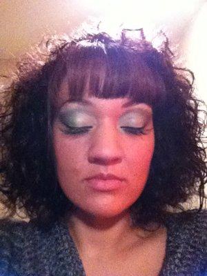 Makeup and Lash Tabbing by Semaj Lrae