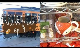Vlogtober Weekend | Fall Shopping!