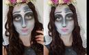 Corpse Bride Halloween Make-Up Tutorial