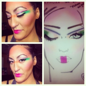 This is my idea of makeup in the future