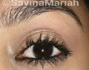 Bold lashes...with one of my favorite mascaras :) simple but dramatic