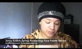 Sonia Kashuk Spring Awakenings Face Palette Review