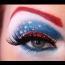 Fun 4th of July look!