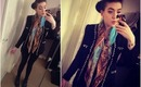 OOTD - Chanel-Inspired Jacket & Baroque Print