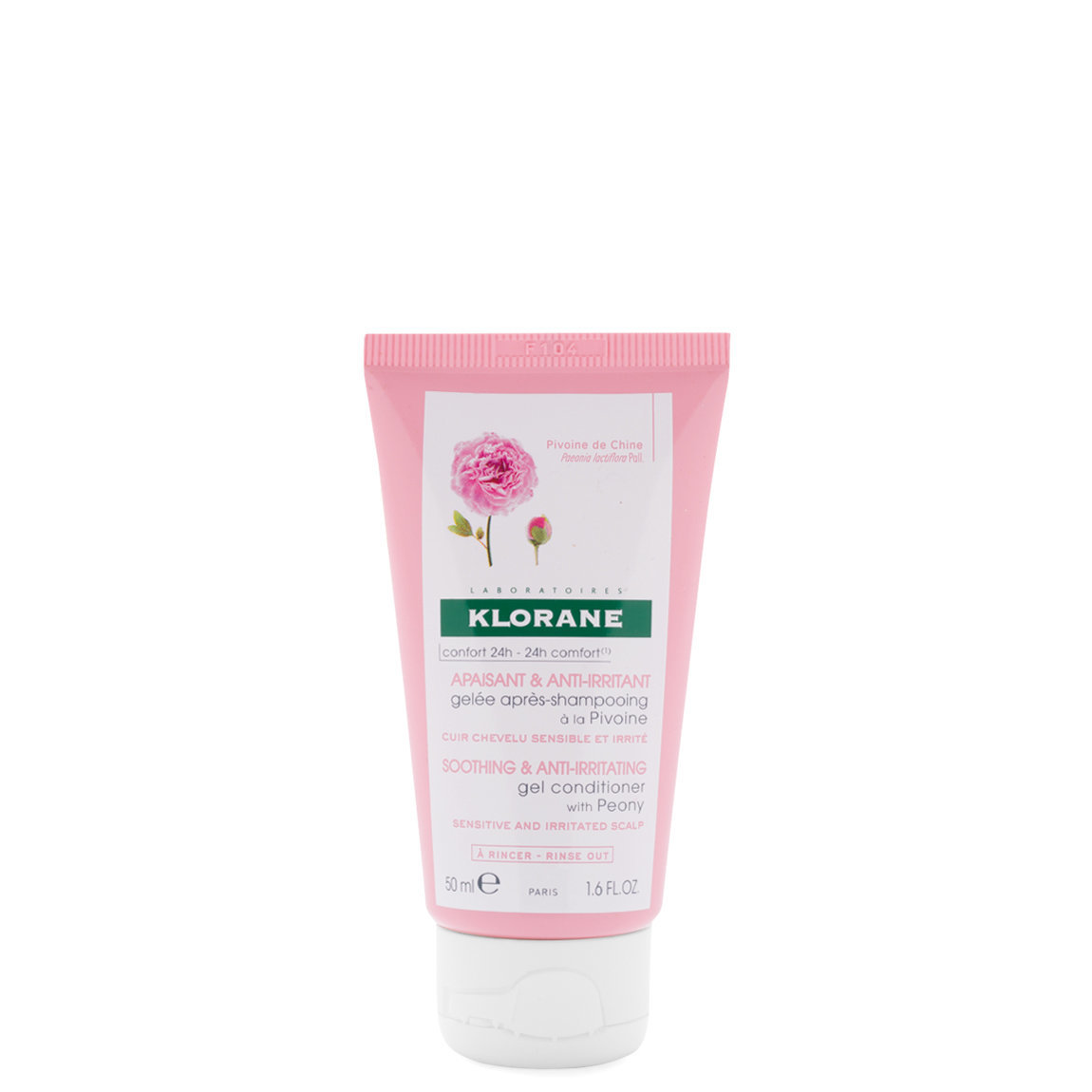 Klorane Gel Conditioner with Peony 1.6 oz product smear.