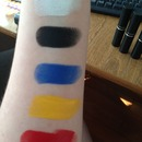 MAC Paint Stick Swatches