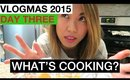 VLOGMAS 2015: DAY 3 ❆ WHAT'S COOKING? | yummiebitez