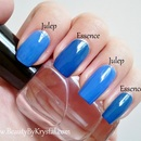 Color Compare: Essence Walk On Air vs. Julep Taylor